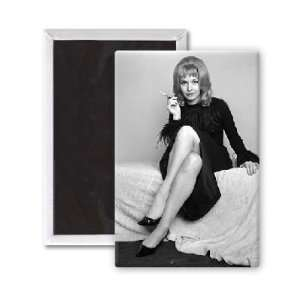 Nyree Dawn Porter   3x2 inch Fridge Magnet   large magnetic button
