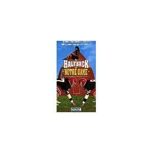 Halfback of Notre Dame [VHS] Gabriel Hogan, Emmanuelle Vaugier