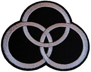 Led Zeppelin Tri Circles (John Bonhams Logo/Symbol