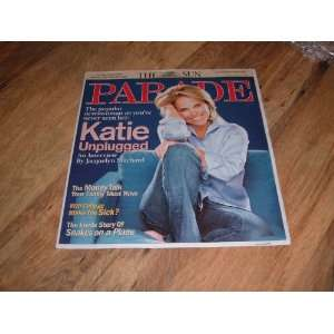 Katie Couric The popular newswoman as youve never seen her: Katie