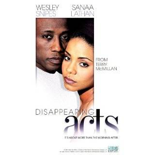 Disappearing Acts ~ John Amos, Sanaa Lathan and Wesley Snipes ( DVD