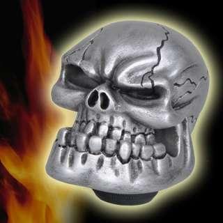 Custom Human Skull Stick Shift Gear Shifter Knob   Car Truck Universal