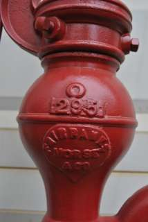 Fairbanks Morse Windmill Hit Miss Engine Co. Hand Water Well Cast Pump