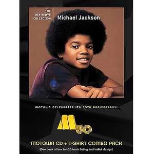 The Definitive Collection (CD + T Shirt), Michael Jackson R&B / Soul