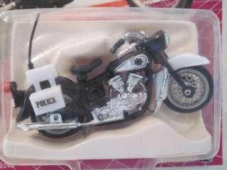 1986 Police Bike Ridge Rider Die Cast Metal ZEE Toys |