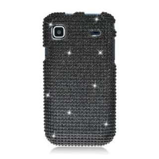 Black DIAMOND Rhinestone BLING Jewel Case for T Mobile Samsung GALAXY