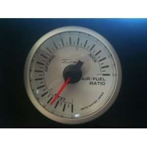 Depo Racing white Electric Air fuel Ratio Gauge Automotive