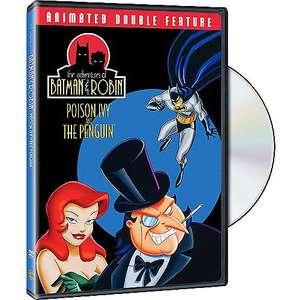 Adventures Of Batman & Robin: Poison Ivy / The Penguin (Full Frame