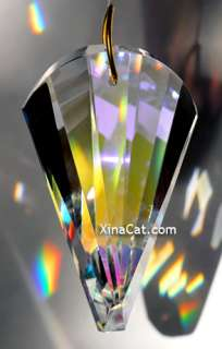 The Wave 63mm AB Austrian Crystal Prism SunCatcher