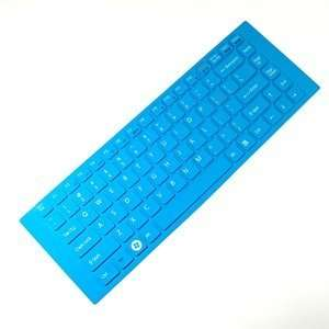 Cosmos ® Aqua Blue Keyboard cover skin compataible with