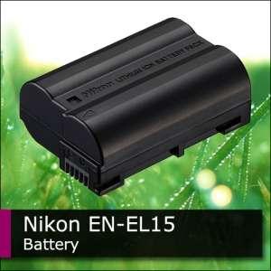 Genuine Nikon Original EN EL15 Battery For D7000 MB D11 +Tracking
