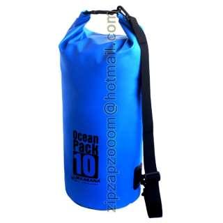 Karana Ocean Dry Pack Waterproof Kayak Shoulder Bag 10L