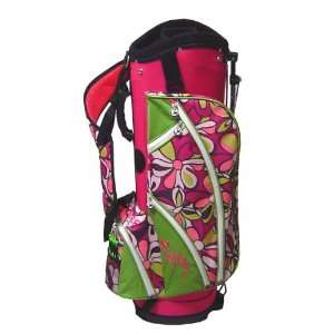 Womens Ladies Golf Bag Margaritaville Pink Flowered Sports & Outdoors