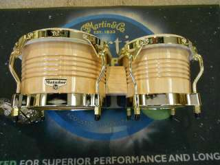 LP Matador Series Bongos w/ Gold Hardware