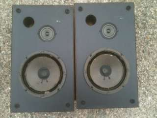 PIONEER PROJECT 80 VINTAGE PAIR OF BOOKSHELF SPEAKERS