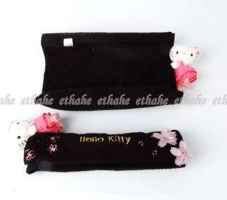 Hello Kitty Figure Seat Belt Cover Shoulder Pads IK5Q