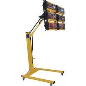 Vestil Portable Infrared Heater   3000 Watts, Height Adjustable, Model