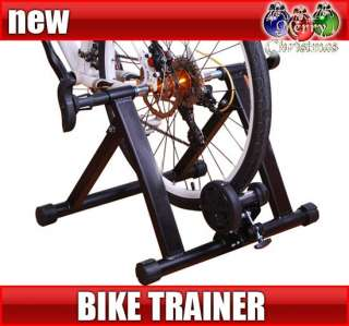 Magnetic Bicycle Bike Trainer Stand Indoor Kinetic Stationary Exercise