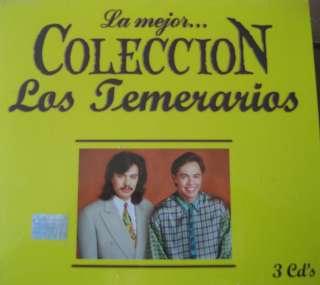 LOS TEMERARIOS La mejor coleccion / 3 CDs 30 Songs BRAND NEW