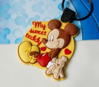 Mickey Mouse Disney Rubber Key Chain toy