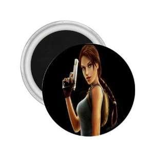 Tomb Raider Lara Underworld Game Souvenir Magnet 2.25