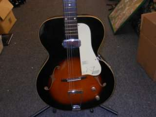 VINTAGE 1960,S KAY ACOUSTIC ELECTRIC GUITAR CHECK IT OUT