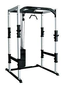 YORK Power Cage Rack Home Gym Squat Smith Machine Weight Exercise